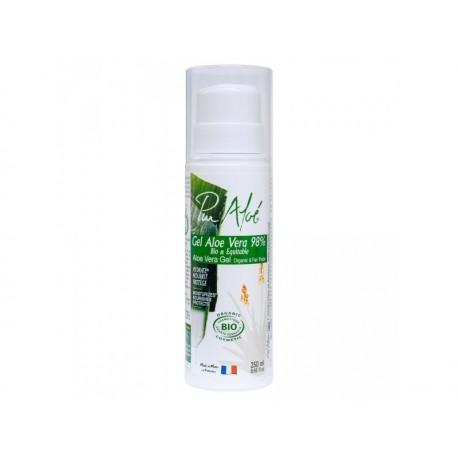 Gel 98% d'Aloe Vera Bio et Equitable - 250ml - Pur Aloé