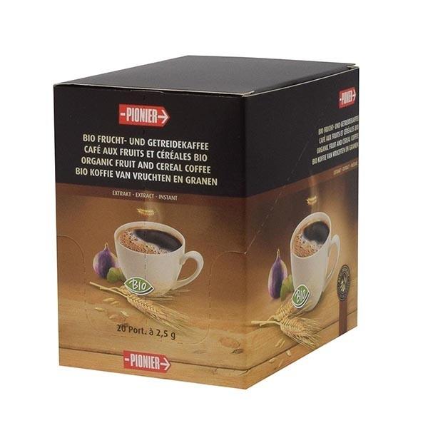 Succédané de café soluble en unidose 20x2.5g Bio - Pionier