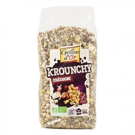Krounchy Châtaigne Bio - 500gr - Grillon d'Or