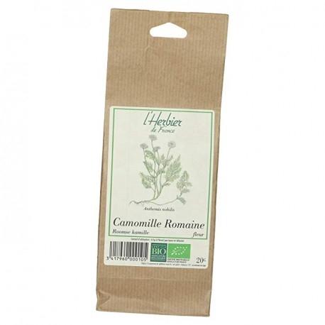 Camomille Romaine Fleur Bio - 20g - L'Herbier de France