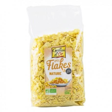 Corn Flakes Nature - 500gr - Grillon d'Or