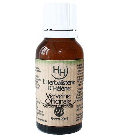 Verveine officinale, 20ml, L'Herbalisterie D'Hélène
