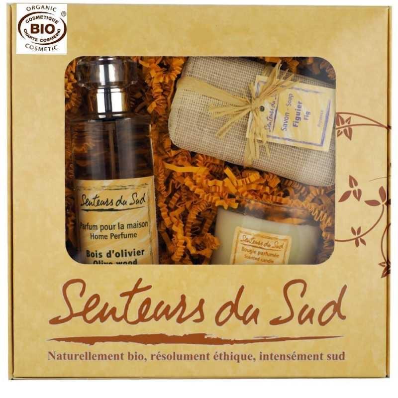 """Coffret """"Maison"""" Esprit de Provence-Senteurs du Sud-bois d'olivier"""