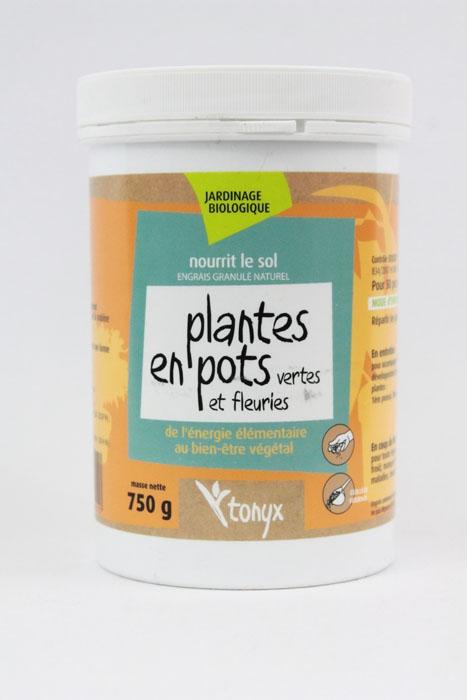 Engrais pour plantes en pots (pot de 750 gr)