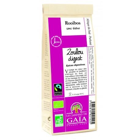 Zoulou Digest, Rooibos 100g-Les Jardins de Gaia