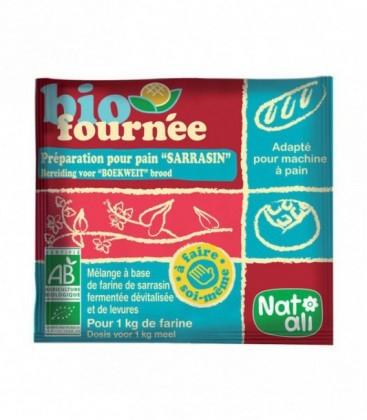 NAT-ALI - Bio fournée - Préparation pour pain sarrasin bio