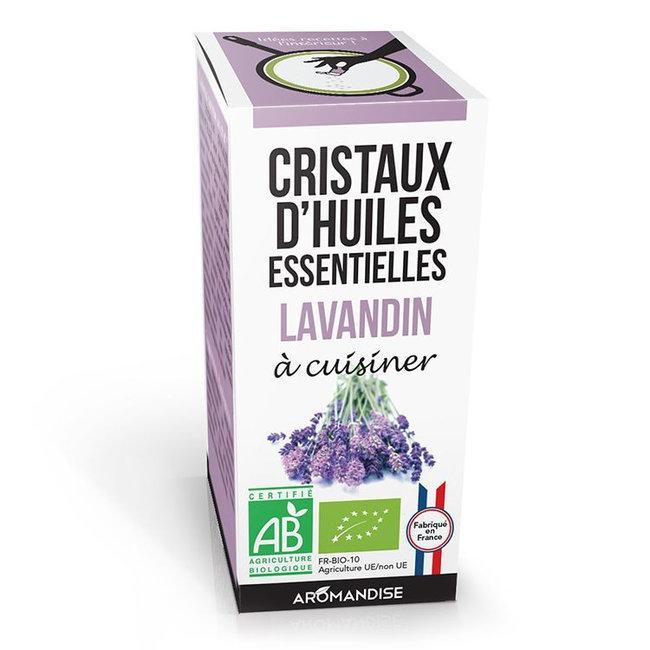AROMANDISE - Cristaux d'huiles essentielles Lavandin bio 10g