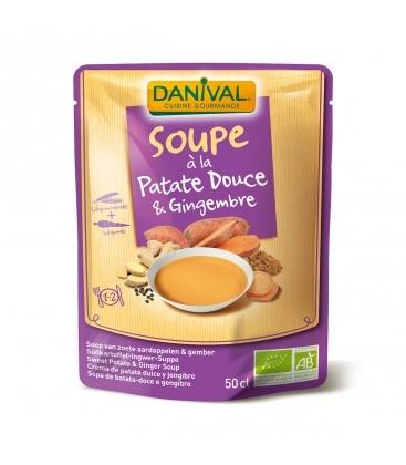 DANIVAL - Soupe bio à la Patate Douce & Gingembre
