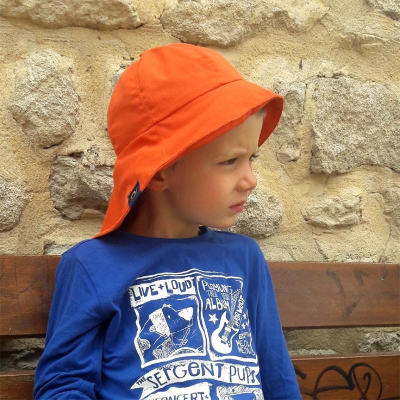 Chapeau de soleil anti-ondes Enfant