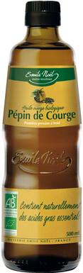 Huile Vierge de Pépin de Courge Bio Emile Noel, 500ml