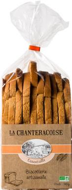 La Chanteracoise - Biscottes Essentielle Nature 280g