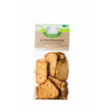 La Chanteracoise - Toasts Nature 140g