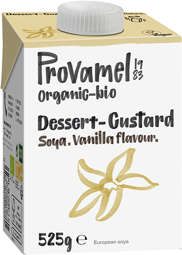 Soja dessert vanille (sirop de blé) 525g PROVAMEL