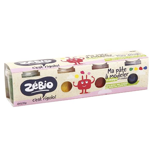 Pâte à Modeler Ecologique Zébio