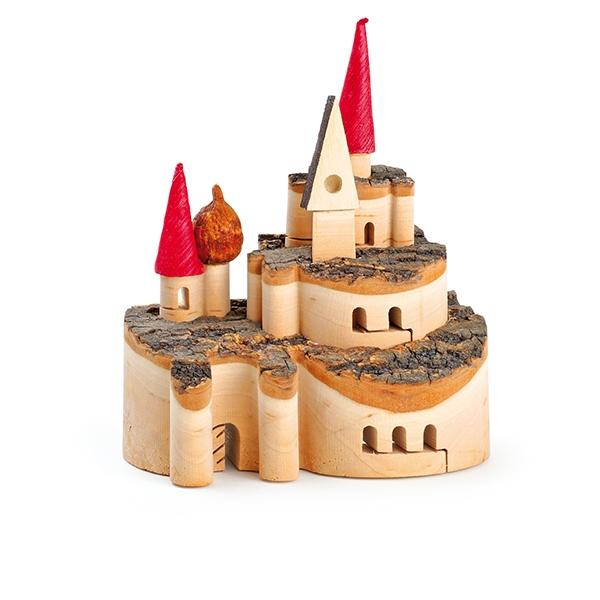 Petit Château en bois sculpté LEGLER