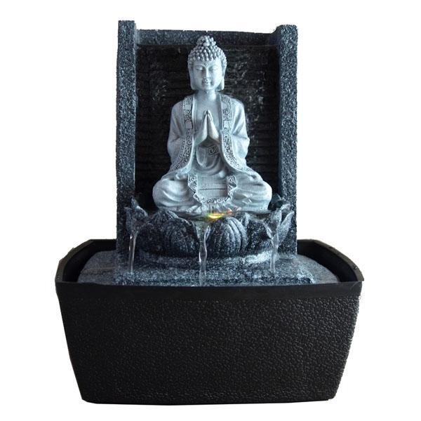 fontaine d'intérieur déco bouddha feng shui nirvana avec