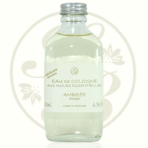 Eau de Cologne  - Ambrée - 200 ml - Savonnerie de  Bormes