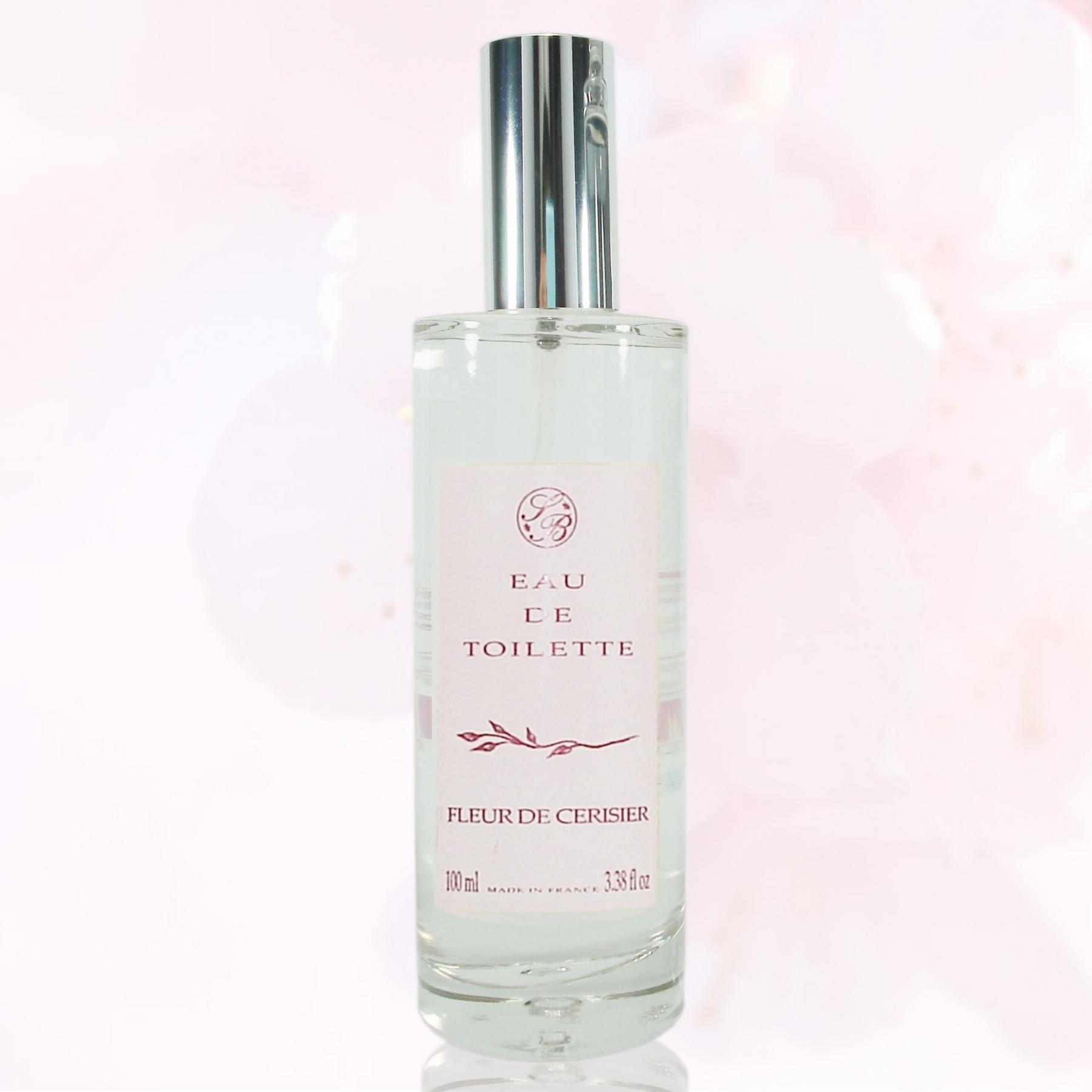 Eau de toilette Fleurissante- Fleur de Cerisier - 100 ml - Savonnerie de Bormes