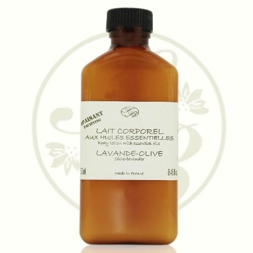 Lait corporel  - Lavande Olive - 250 ml - Savonnerie de Bormes