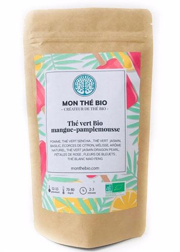 Thé glacé Mangue-pamplemousse BIO