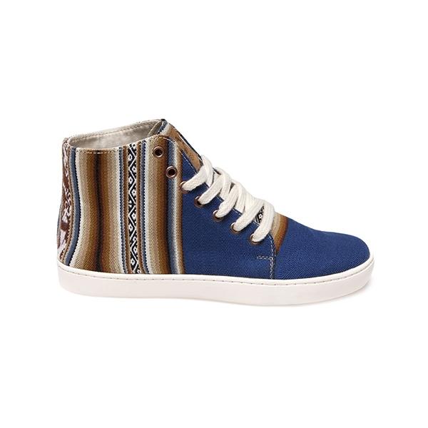 Sneakers unisex Ampato Alto Azul