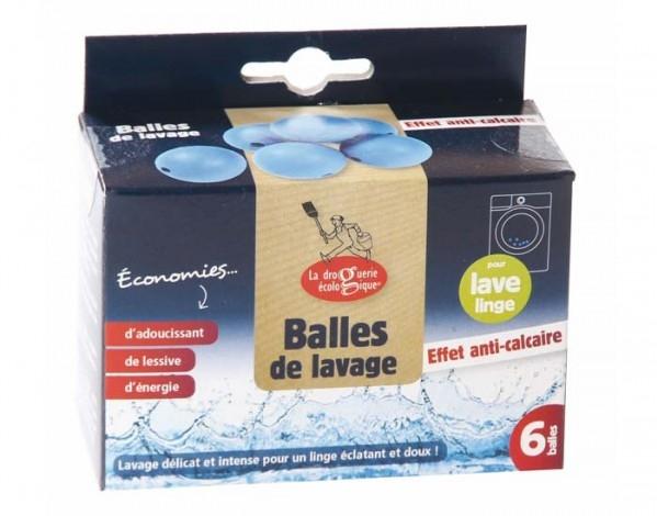 Balles de lavage anti-calcaire