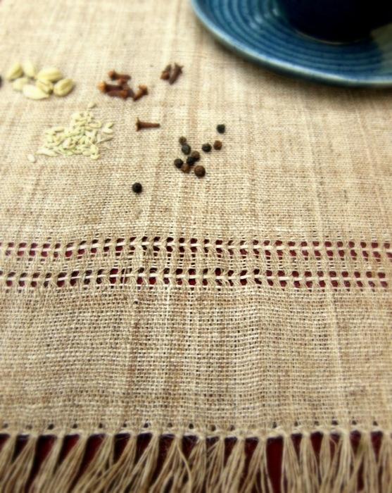 Set de table fibre d'ortie