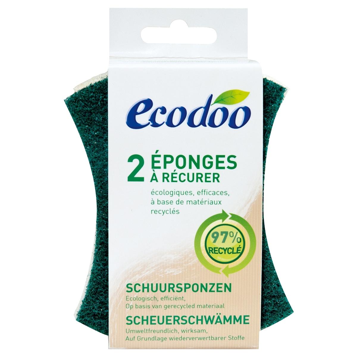 ECODOO - Éponges à récurer écologiques