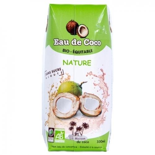 Eau de Coco nature bio & équitable