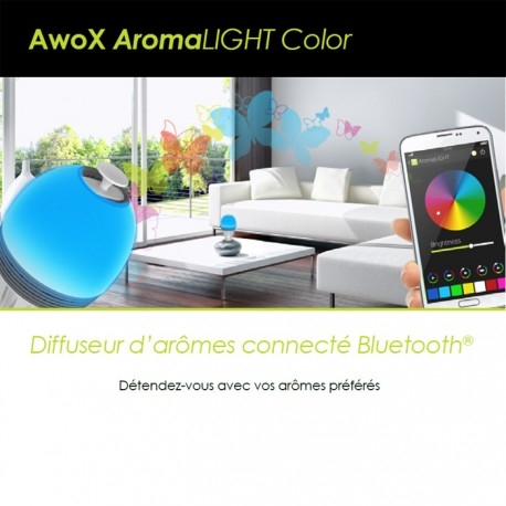 MIPOW - Ampoule Diffuseur d'Arômes AROMALIGHT