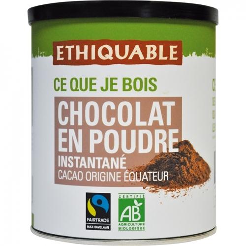 ETHIQUABLE - Chocolat en poudre instantané