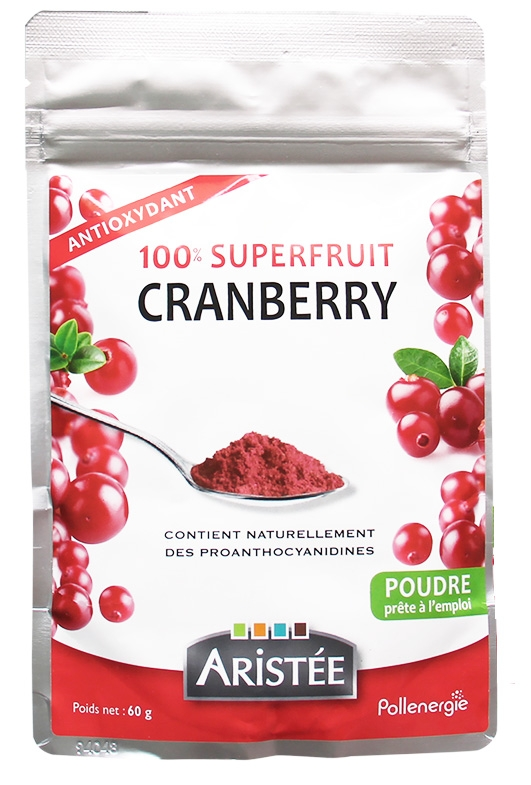 100% superfruit Cranberry - 60 gr