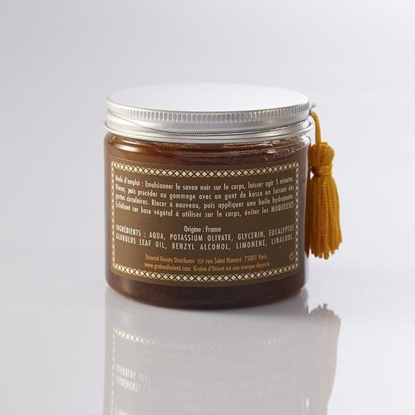 GRAINE D'ORIENT - Savon Noir Eucalyptus - 200 ml