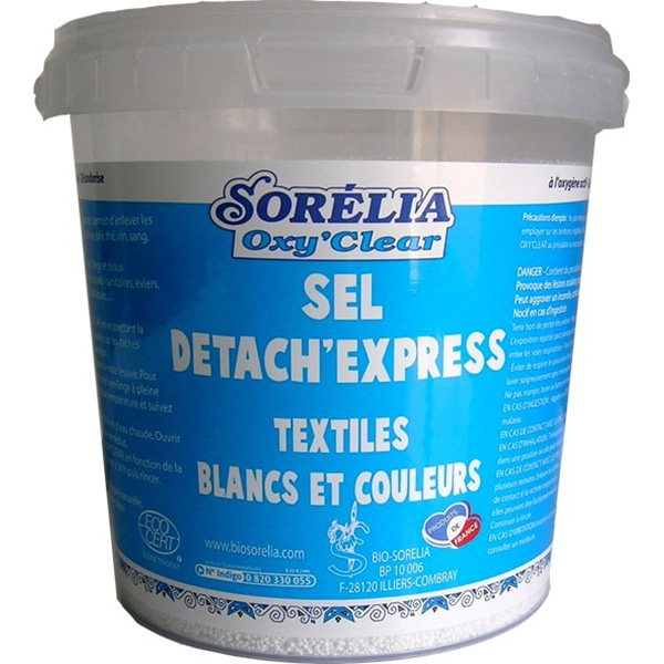 Sel Détachant Express Oxy'Clear 5 kg