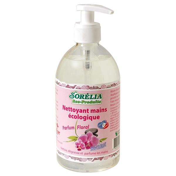 Savon main liquide parfum fleuri