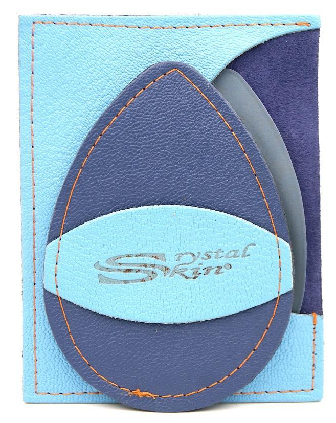 Gant d'exfoliation et d'épilation Bleu givré/ Bleu Royal