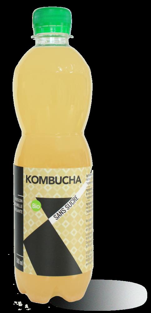 Kombucha SANS SUCRE 500ml