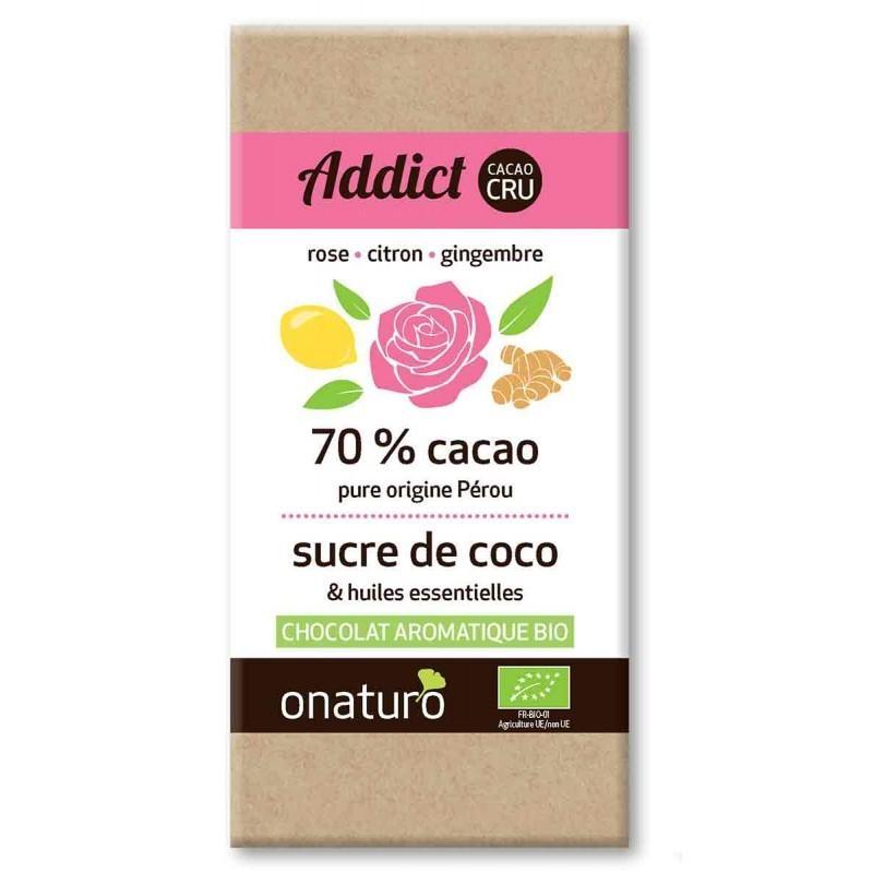 Onaturo - Addict Chocolat CRU Noir 70%