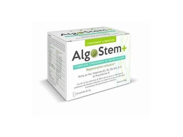 Algostem + synergie pour la régénération cellulaire