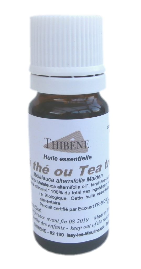 huile essentielle bio d arbre th tea tree oil 10. Black Bedroom Furniture Sets. Home Design Ideas