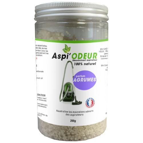 Aspi'odeur agrume 200g - désodorisant pour aspirateur