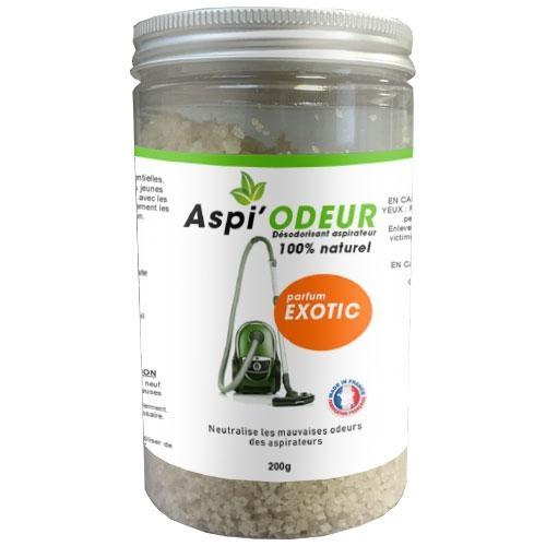 Aspi'odeur exotic 200g - désodorisant pour aspirateur