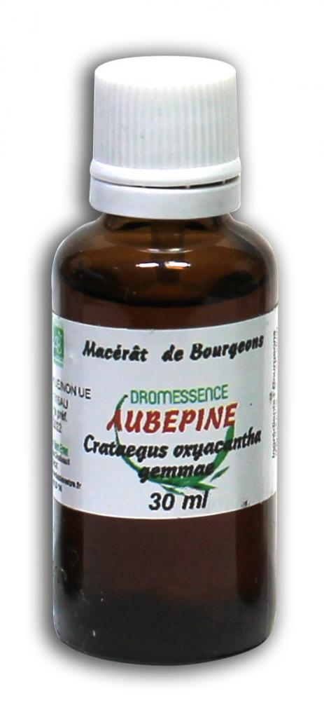 Macérât BIO de bourgeons : Aubépine  30ml DROMESSENCE