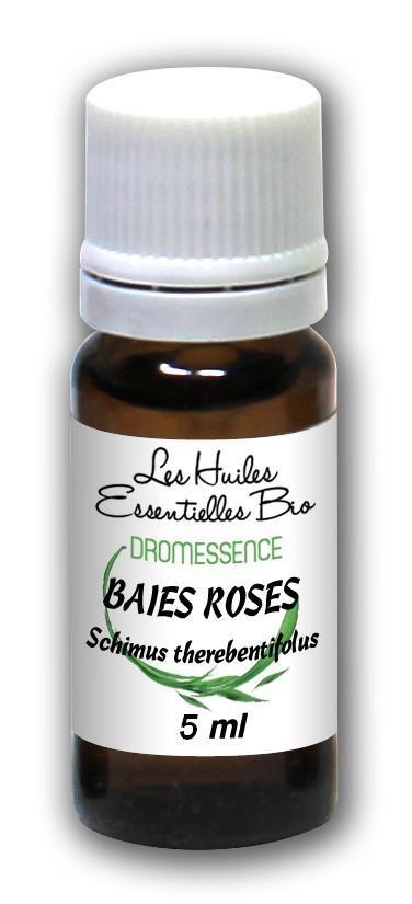 Huile essentielle Baies roses BIO 10 ml  DROMESSENCE