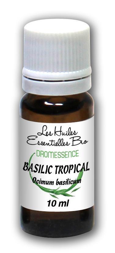 Huile essentielle de Basilic tropical 10 ml Dromessence