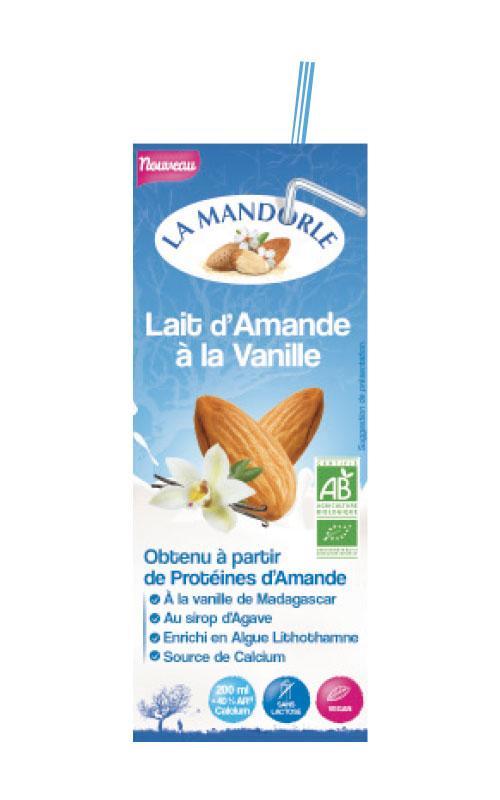 """Briquette Lait d'Amande Vanille """"LA MANDORLE"""""""