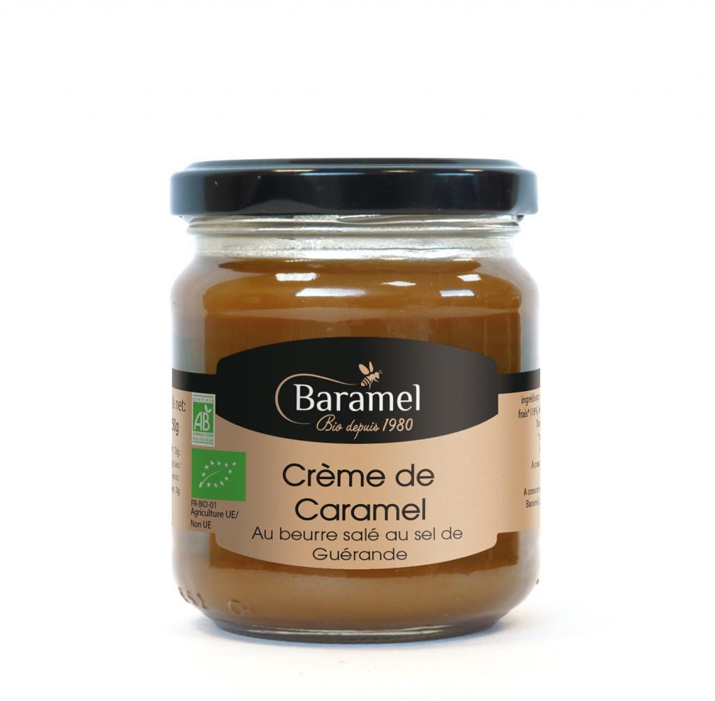 Crème de Caramel au Beurre Salé biologique en pot 200gr - Baramel