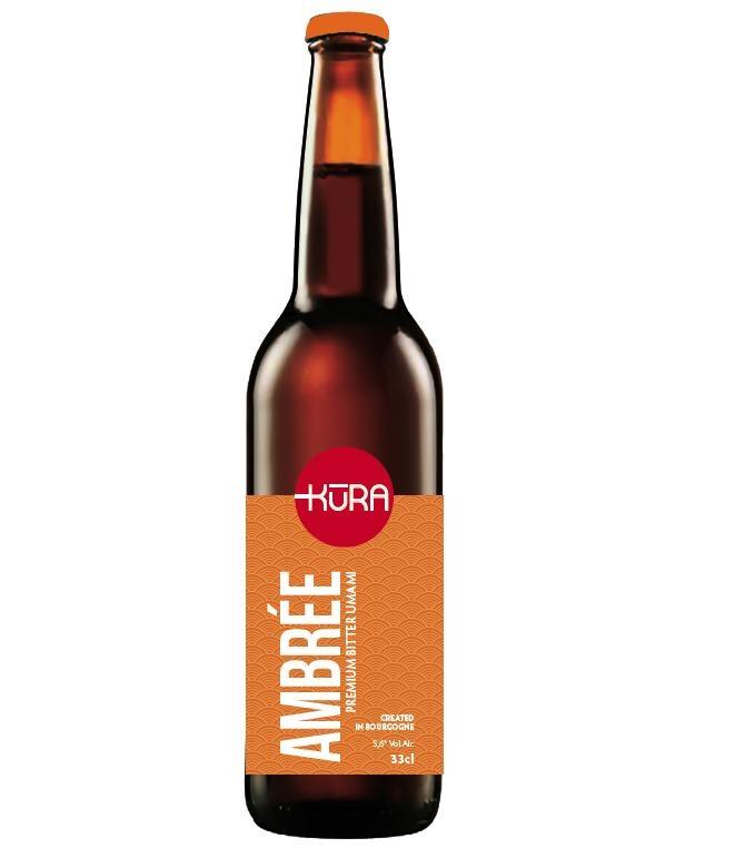 Bière Ambrée Bio Umami 33cl
