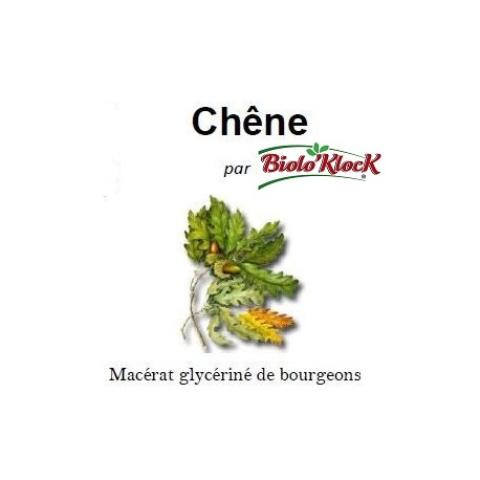 Macérat de bourgeons de Chêne - 15ml