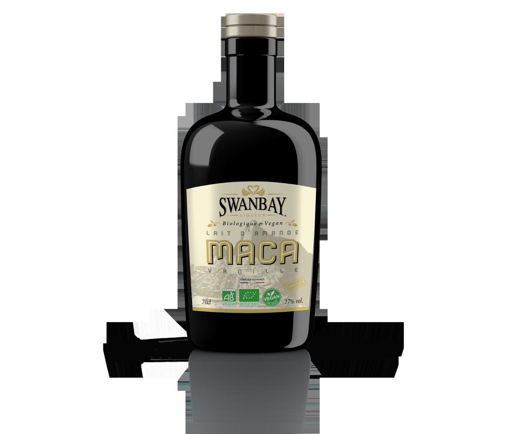 SWANBAY LIQUEUR® Maca & lait d'amande - Saveur Vanille de Madagascar
